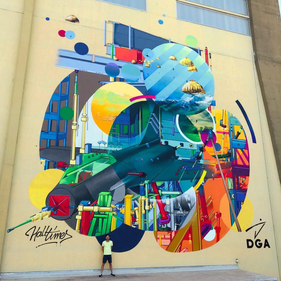 graff graffeur toulouse halltimes julien avignon fresque dga ceat balma artiste