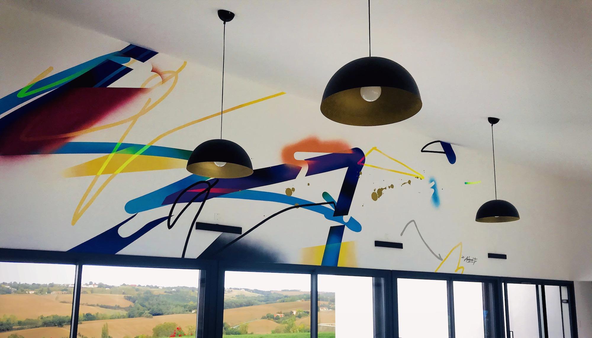 fresque-moderne-deco-interieur-abstrait-artiste-julien-avignon