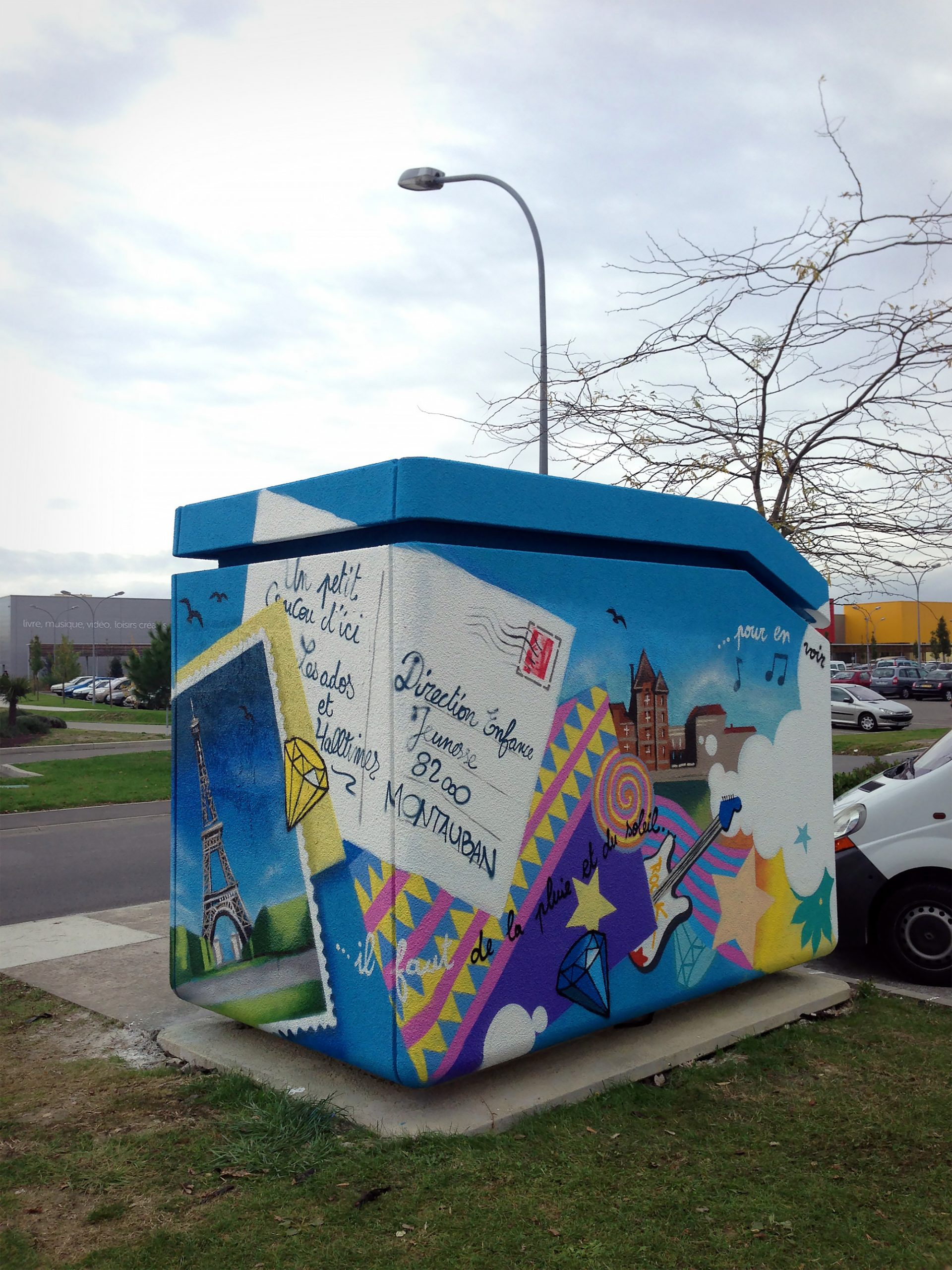 poste-transformation-graffiti-montauban-graffeur-halltimes