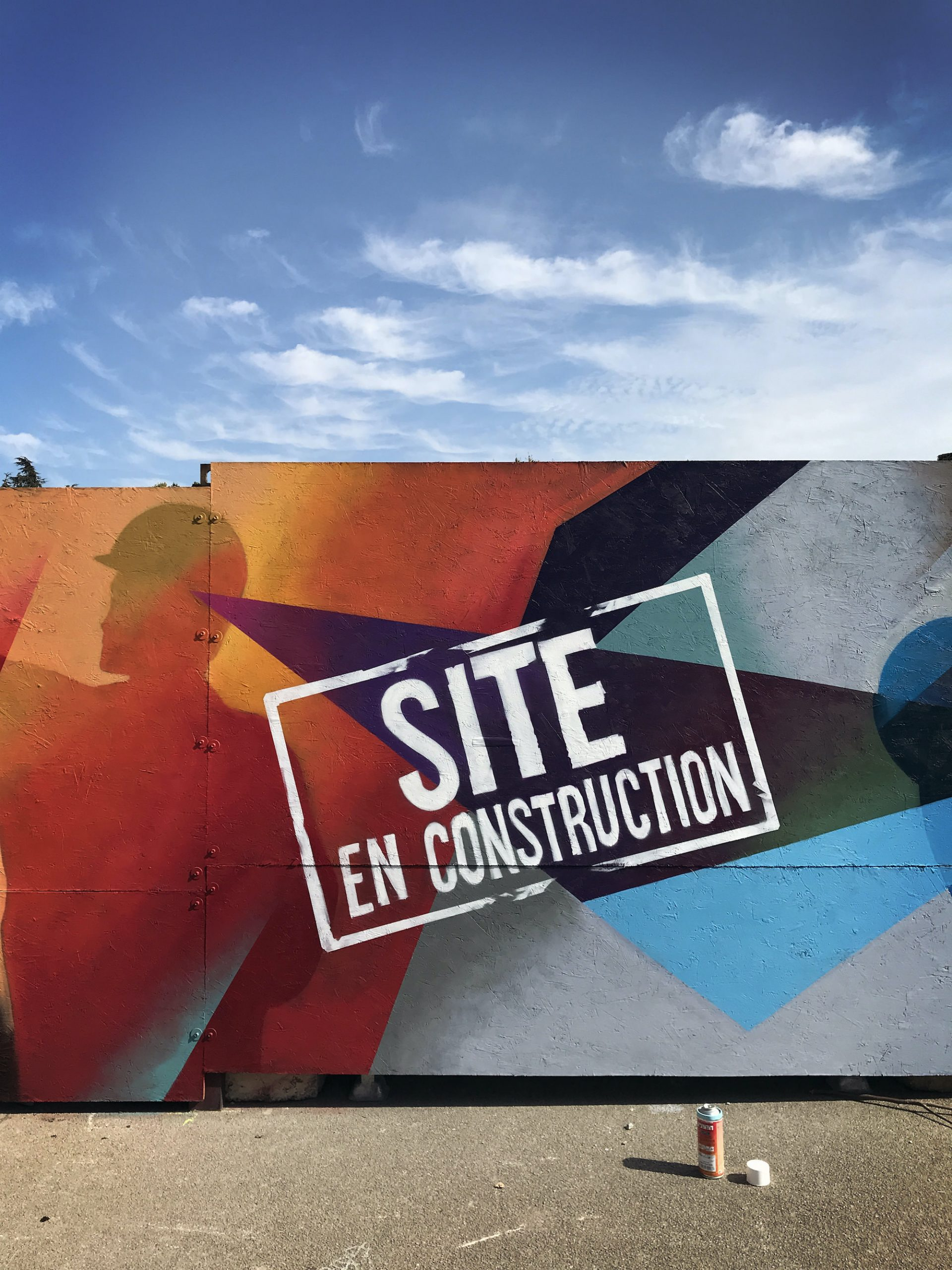 chantier construction icade ynov campus graffiti streetart toulouse