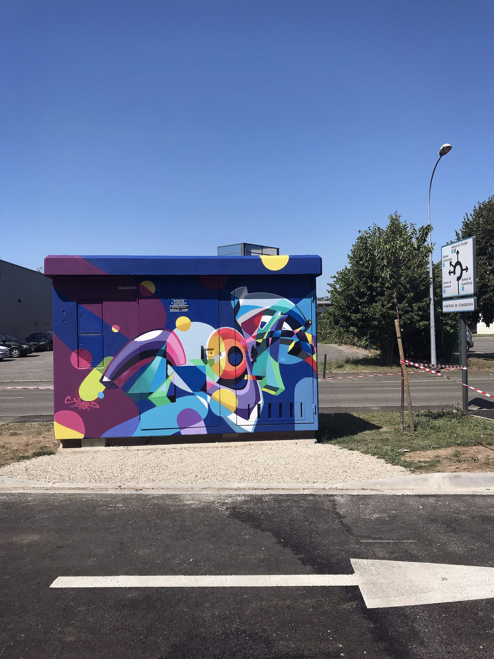 montauban graffiti fresque poste transformation enedis