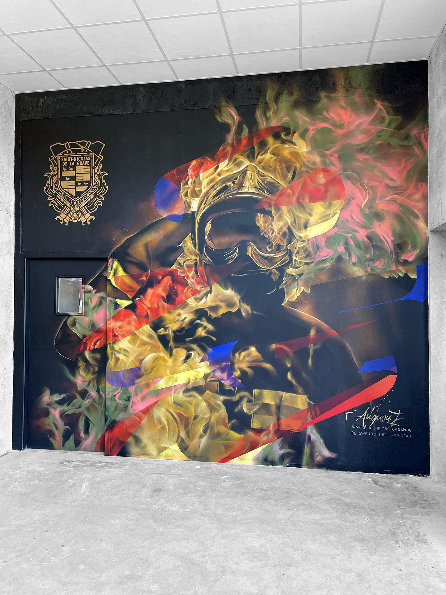Fresque-pompiers-Graffiti-flamme-casque-graffeur-toulouse-halltimes
