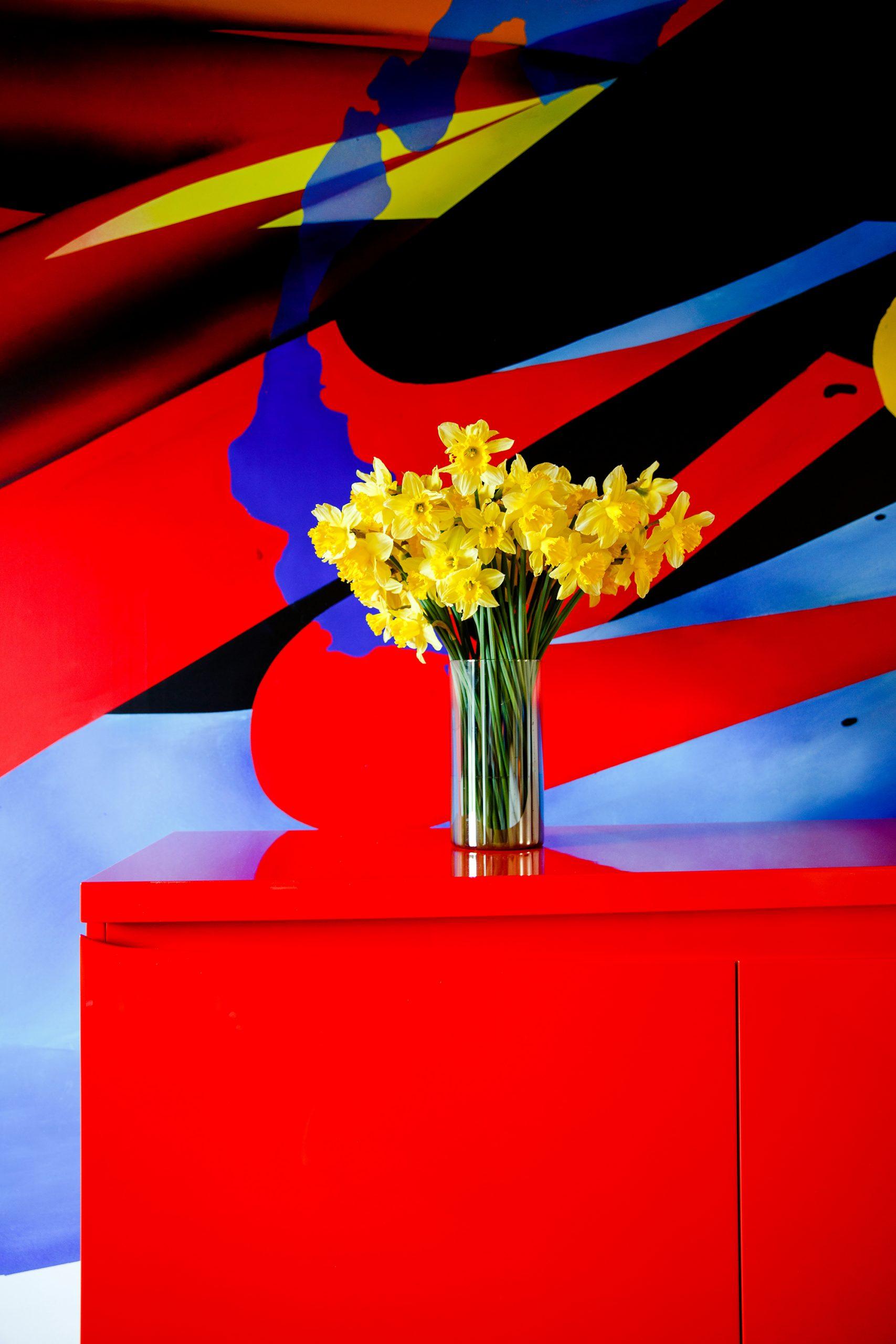 fresque contemporaine design