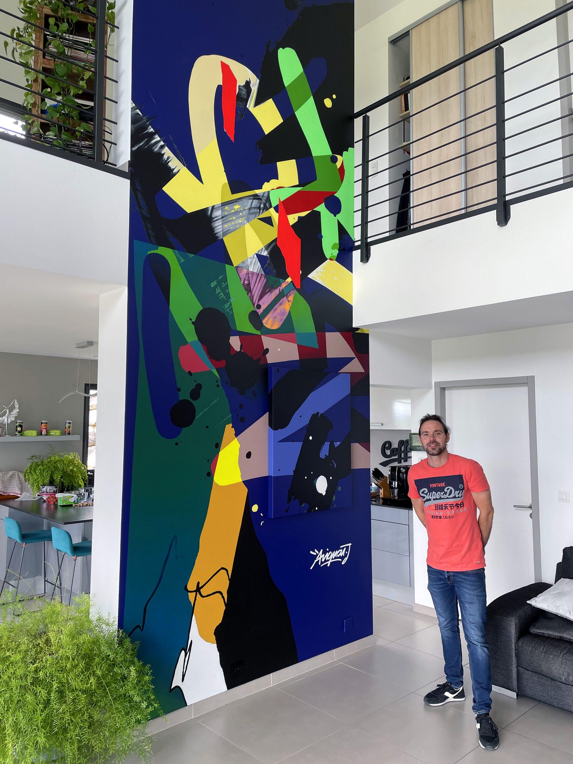 decoration murale graffiti graffeur toulouse