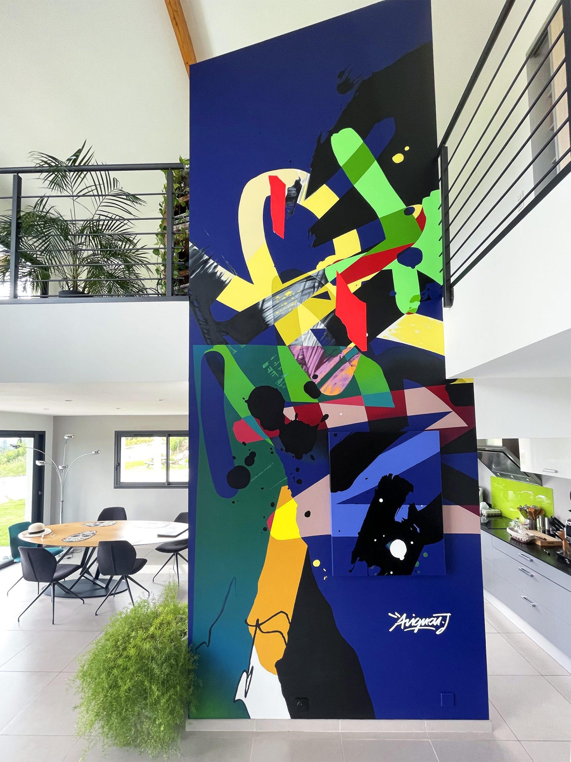 décoration-interieur-graphic-design-fresque-graffiti-design-toulouse-artiste-graffeur