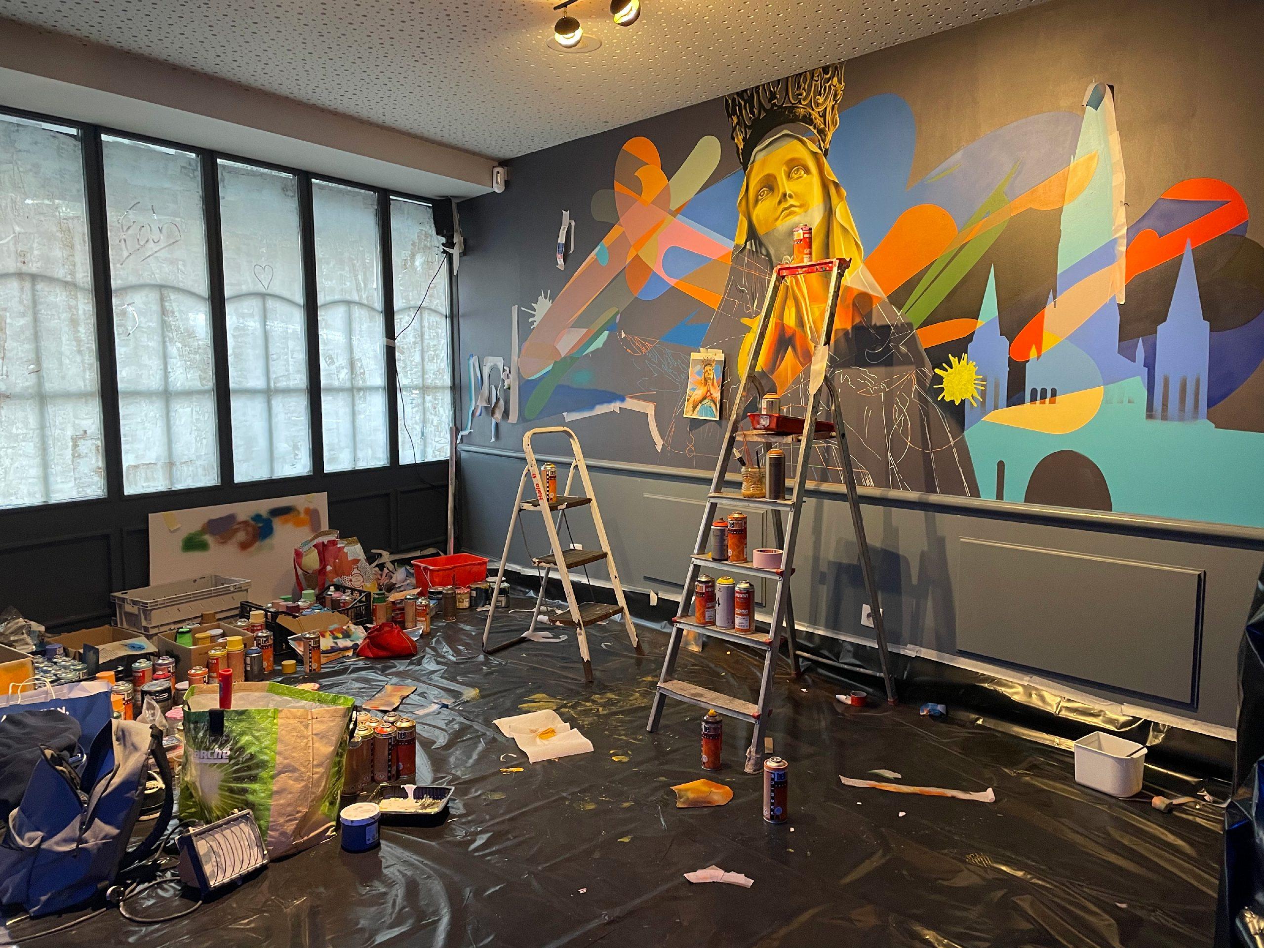 decoration-restaurant-moderne-contemporain-graffiti-street-art